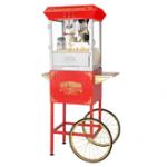 Máquina de Popcorn Con Carrito 8OZ