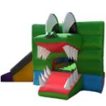Brinca Brinca con Tobogán Caída Por Fuera 6x3 Con Figura