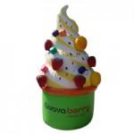 Replica de helado inflable