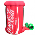 Ciclón de dinero Coca Cola